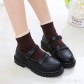 女童皮鞋新款韓版英倫風公主鞋中大童黑色軟底學生演出鞋 雙十二全館免運