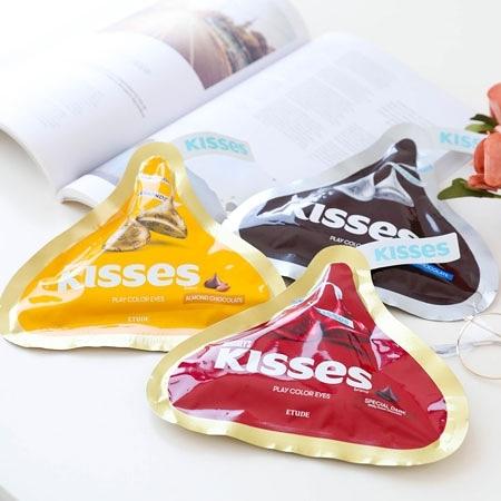 韓國 ETUDE HOUSE x HERSHEY'S KISSES 玩轉色彩四色眼彩盤 1.2g x 4 眼影盤 眼影