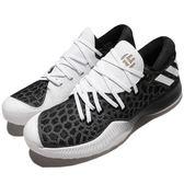 adidas 籃球鞋 Harden B/E 黑 白 平民版 低筒 舒適緩震 運動鞋 男鞋【PUMP306】 CG4196