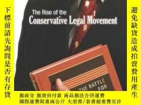 二手書博民逛書店The罕見Rise Of The Conservative Legal MovementY255562 Ste