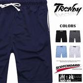 『潮段班』【BS0G2921】MIT 春夏新款 M-XL SCOTCHGARD美國3M吸濕排汗褲 舒適透氣柔軟鬆緊褲