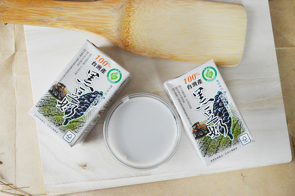 產銷履歷100%台灣產黑豆奶-有糖(箱)250ml*24瓶