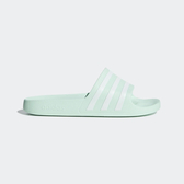 ADIDAS ADILETTE AQUA [G28713] 女鞋 運動 涼鞋 拖鞋 休閒 舒適 輕量 穿搭 愛迪達 粉綠