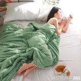 韓版薄被子夏天水洗棉夏被空調被夏涼被雙人單人夏季薄款 印象家品旗艦店
