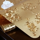 塑料pvc餐桌墊防水防油防燙隔熱軟玻璃桌...