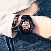 Relax Time RT62系列 人動電能地球腕錶-玫塊金x黑/45mm RT-62-2