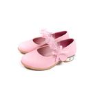小女生鞋 娃娃鞋 花朵 粉紅色 童鞋 916 no213