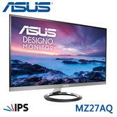 【免運費】ASUS 華碩 MZ27AQ 27型 IPS 顯示器 / 2560 x 1440 / 純數位介面 內建喇叭