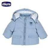 chicco-騎士熊系列-舖棉活動帽外套-藍