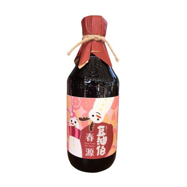 豆油伯 春源純釀黑豆醬油(500ml)