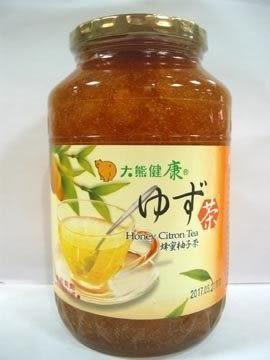 大熊健康蜂蜜柚子茶 1000g/罐