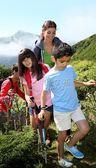 登山杖 戶外 男女款 兒童徒步登山手杖超輕伸縮外鎖爬山igo 俏女孩