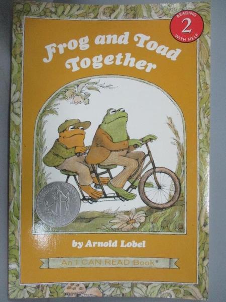 【書寶二手書T1/語言學習_ZIF】Frog and Toad Together_Lobel, Arnold
