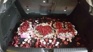 (YA-0314)情意花坊超級商城永和花店氣球佈置/求婚佈置/波波球/後車廂百朵玫瑰佈置3999元