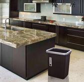 垃圾桶家用客廳臥室廚房方形壓圈無蓋垃圾桶-4254優一居