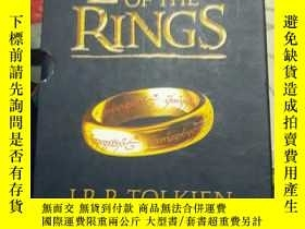 二手書博民逛書店THE罕見LORD OF THE RINGS 英文原版1--7