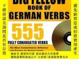 二手書博民逛書店The罕見Big Yellow Book Of German VerbsY364682 Robert Di D