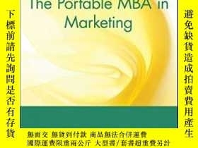 二手書博民逛書店The罕見Portable Mba In MarketingY256260 Charles D. Schewe