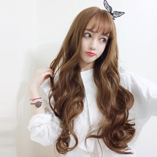 真實度破表!! 擬真韓系假髮 耐熱 長捲髮 洋娃娃大捲髮 假髮【MA501】☆雙兒網☆