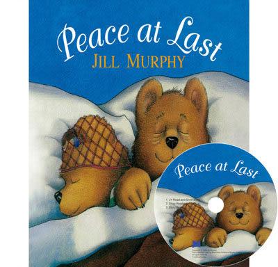 【麥克書店】PEACE AT LAST  /英文繪本+CD