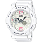 BGA-180BE-7B 白  BABY-G 粉紅海洋運動錶