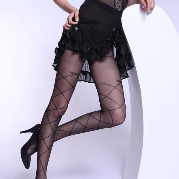 黑絲襪女波點連體連褲襪