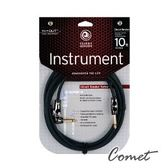 吉他導線►Planet Waves PW-AGRA-10 Circuit Breaker (1直頭1L頭)頂級10呎導線-快拆開關頭