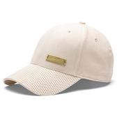 PUMA Classics Suede 老帽 棒球帽 帽子 絨面 金標 粉【運動世界】02255602