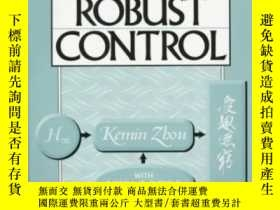 二手書博民逛書店Essentials罕見Of Robust Control-魯棒控制原理Y436638 Kemin Zhou;