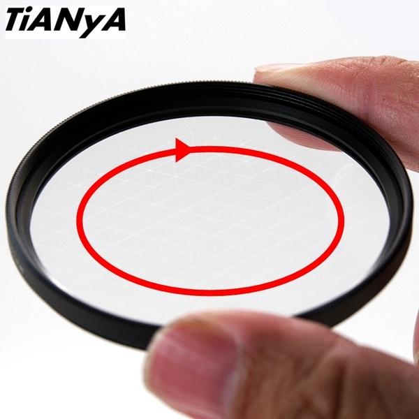 又敗家@Tianya可旋轉水字鏡40.5mm水字星芒鏡水鏡六線星芒鏡6線星芒鏡六星芒鏡6X鏡六芒鏡6線珠寶鏡