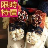 手套 針織-質感日韓溫暖羊毛女手套2色63m12[巴黎精品]