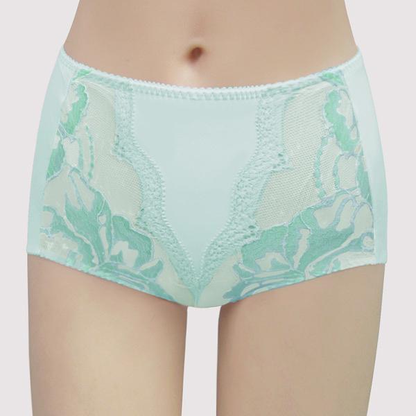 【曼黛瑪璉】包覆提托雙弧 高腰修飾內褲(雅緻綠)(未滿3件恕無法出貨,退貨需整筆退)