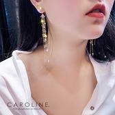 《Caroline》★韓國熱賣造型時尚  浪漫風格耳環 70722