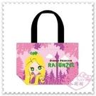 ♥小花花日本精品♥《Disney》迪士尼 長髮公主 提袋 手提袋 便當袋 外出袋 Q版圖 粉色 42157205