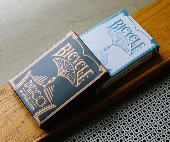 【USPCC 撲克】BICYCLE DECO 紀念限量 撲克牌 銀色/銅色