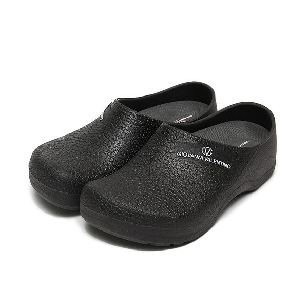 GIOVANNI VALENTINO MIT 荷蘭鞋 黑 男女款