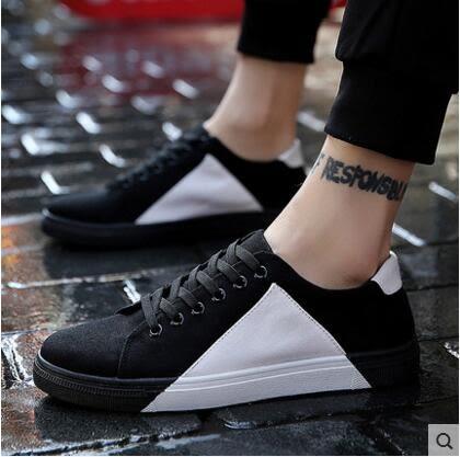 【618好康又一發】帆布鞋休閒鞋男帆布鞋男韓版潮流