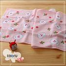 日本毛巾 : 和的風物詩_南天兔兔 34*90 cm (長毛巾 冬雪 -- taoru 日本毛巾)