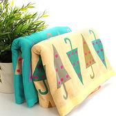 里和Riho LOVEL日雜塗鴉糖果雨傘紗布童巾 51x26cm 2色可選 哺乳巾 紗布巾 毛巾
