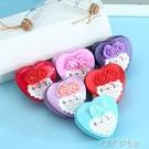 特惠禮品盒歐式婚慶喜糖盒子鐵盒馬口鐵糖果盒心形小禮盒結婚喜糖袋小號中號交換禮物