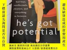 二手書博民逛書店He's罕見Got PotentialY25376 Belisa Vranich 著 Wiley 出版201