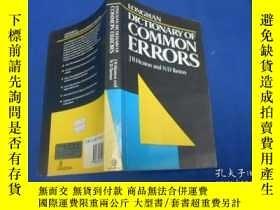 二手書博民逛書店LONGMAN罕見DICTIONARY OF COMMON ERRORS(不認識外文,作者、出版社等等,以圖片為準
