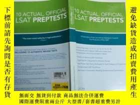 二手書博民逛書店10罕見Actual, Official LSAT PrepTe
