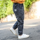 男童牛仔褲春秋新款韓版潮寶寶秋裝小童長褲冬季兒童褲子