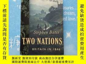 二手書博民逛書店TWO罕見NATIONS BRITAIN IN 1846(英國在