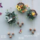 掛飾系列 花環裝飾壁掛牆壁掛件牆上客廳掛...