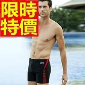 四角泳褲-溫泉經典流行有型男平口褲56d19[時尚巴黎]