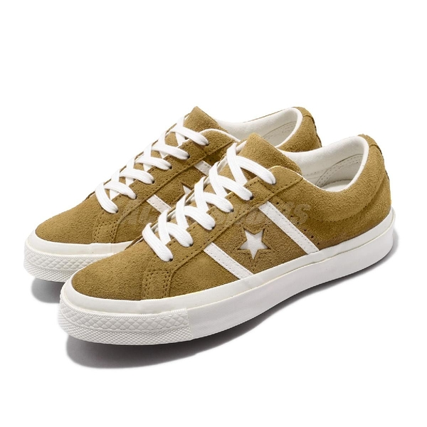 Converse 休閒鞋 One Star Academy 棕 米白 男鞋 運動鞋 麂皮 【PUMP306】 165041C