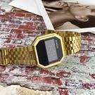 NIXON RE-RUN復古潮流電子腕錶...