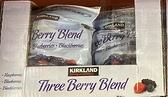 [COSCO代購 需低溫宅配] C1295576 KIRKLAND SIGNATURE THREE BERRY 1.81KG 科克蘭冷凍三種綜合莓